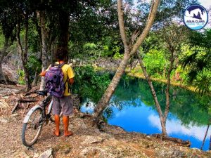 Cenote bike tours in Tulum, admire the beauty of the mayan riviera with our eco tour in a bike