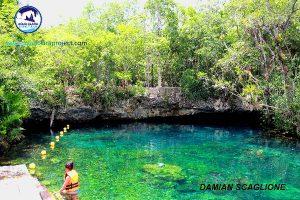 tulum tour 5 cenotes tankah tour - swim and float